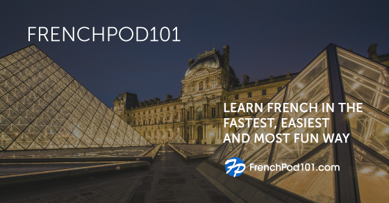 FrenchPod101 - Learn French with Audio & Video Lessons