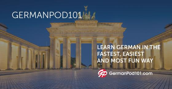100 Core German Words Germanpod101