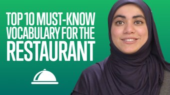 Top 10 Must-Know Vocabulary for the Restaurant - UrduPod101