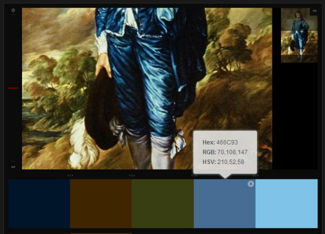 Little Boy Blue - color palette - hex color