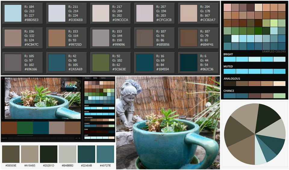 Creative Coffee Color Palettes