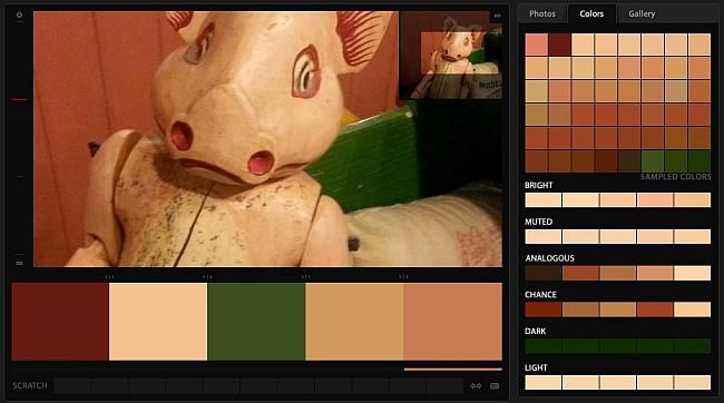 Porky's Last Stand - Color Palette