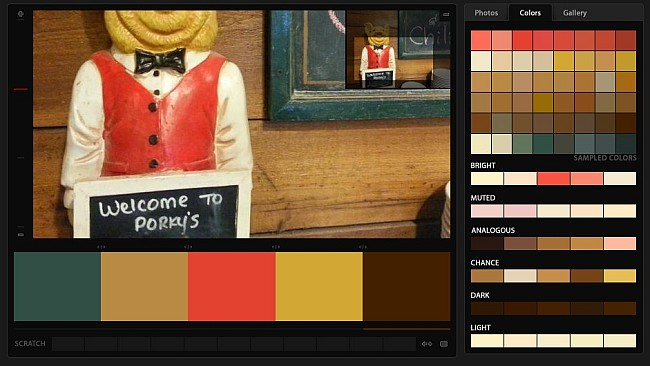 Welcome to Porky's - Hot Chili Color Palette
