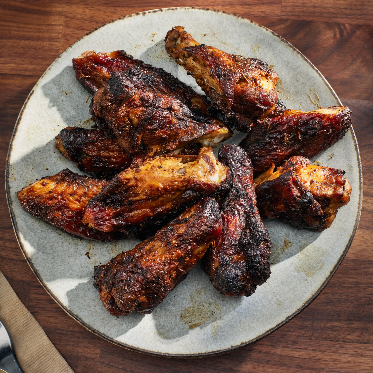 Hickory BBQ Wings