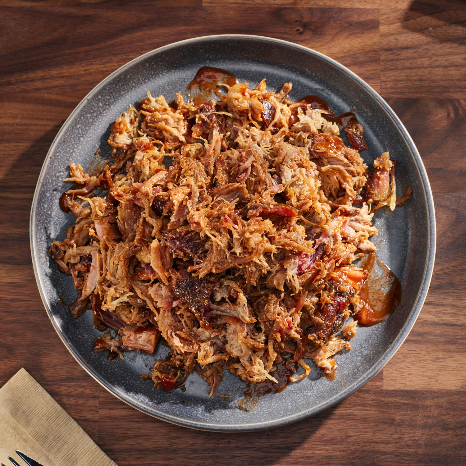 BBQ Pulled Pork 3 to 7 (1 lb) Packs