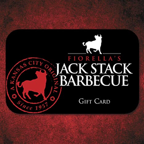 Jack Stack Gift Cards (Standard USPS Delivery Only)