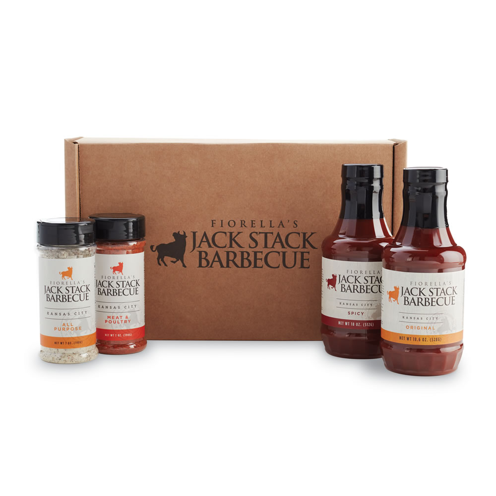 Sauce & Rub Four Pack