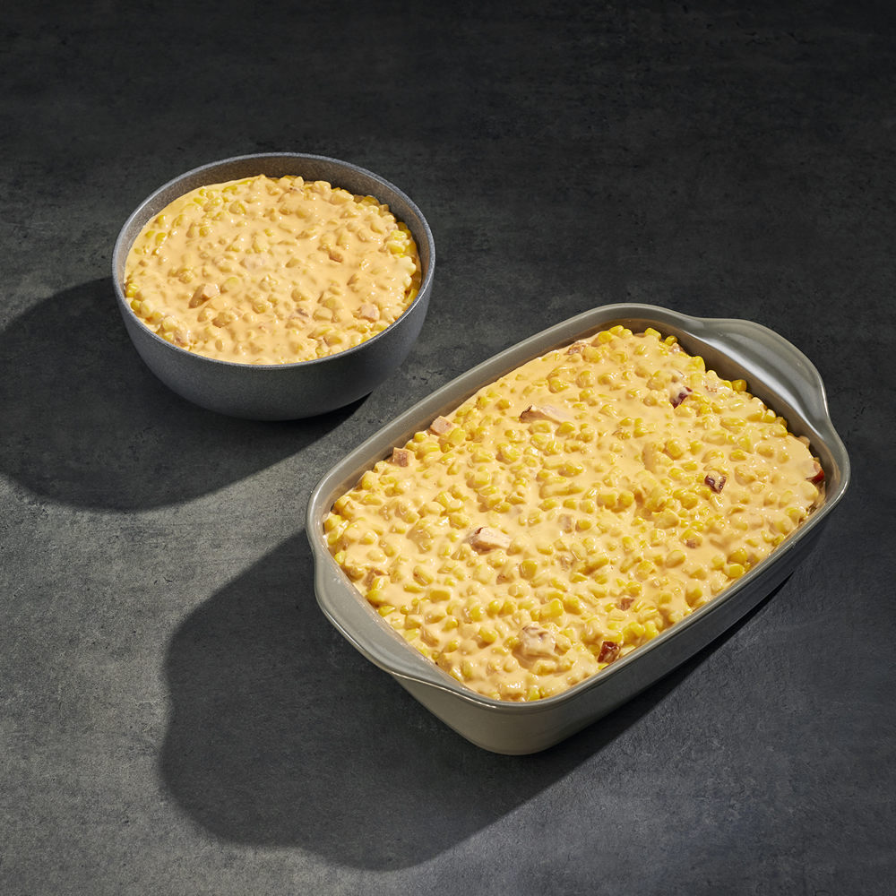Cheesy Corn Bake