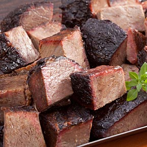 Beef Burnt Ends - 1 lb. - Add $5