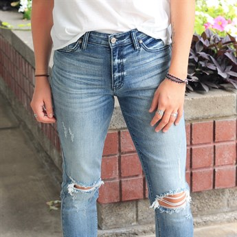 Jane KanCan Distressed Denim