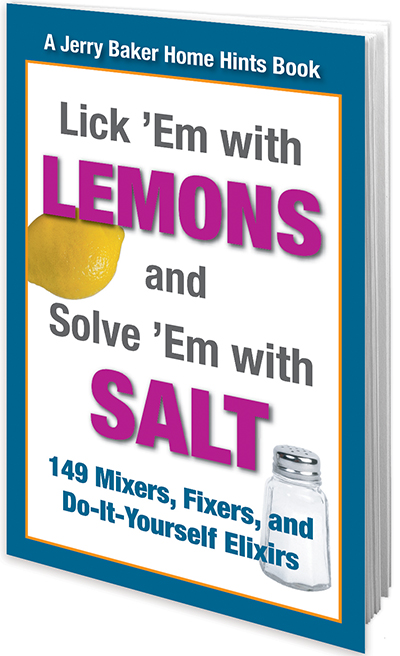 Lick 'Em with Lemons and Solve 'Em with Salt