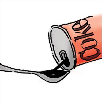 4. Treat 'em to a refreshing sip.
