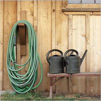 3. Mend an old hose.