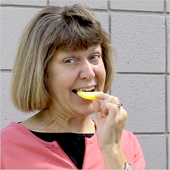 1. Lick 'em with a little lemon-aid.