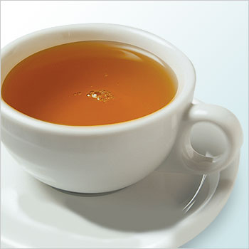 5. Try a tress-tea tone-up.