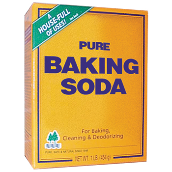 1. A simple soda solution.