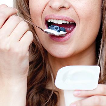 5. Load up on yogurt.