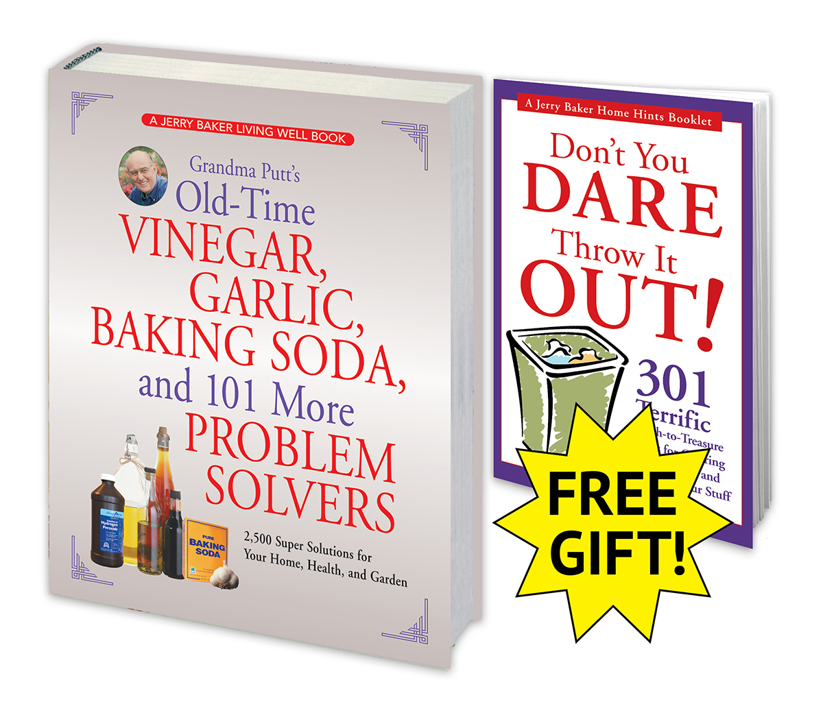 Grandma Putt's Vinegar, Garlic and Baking Soda