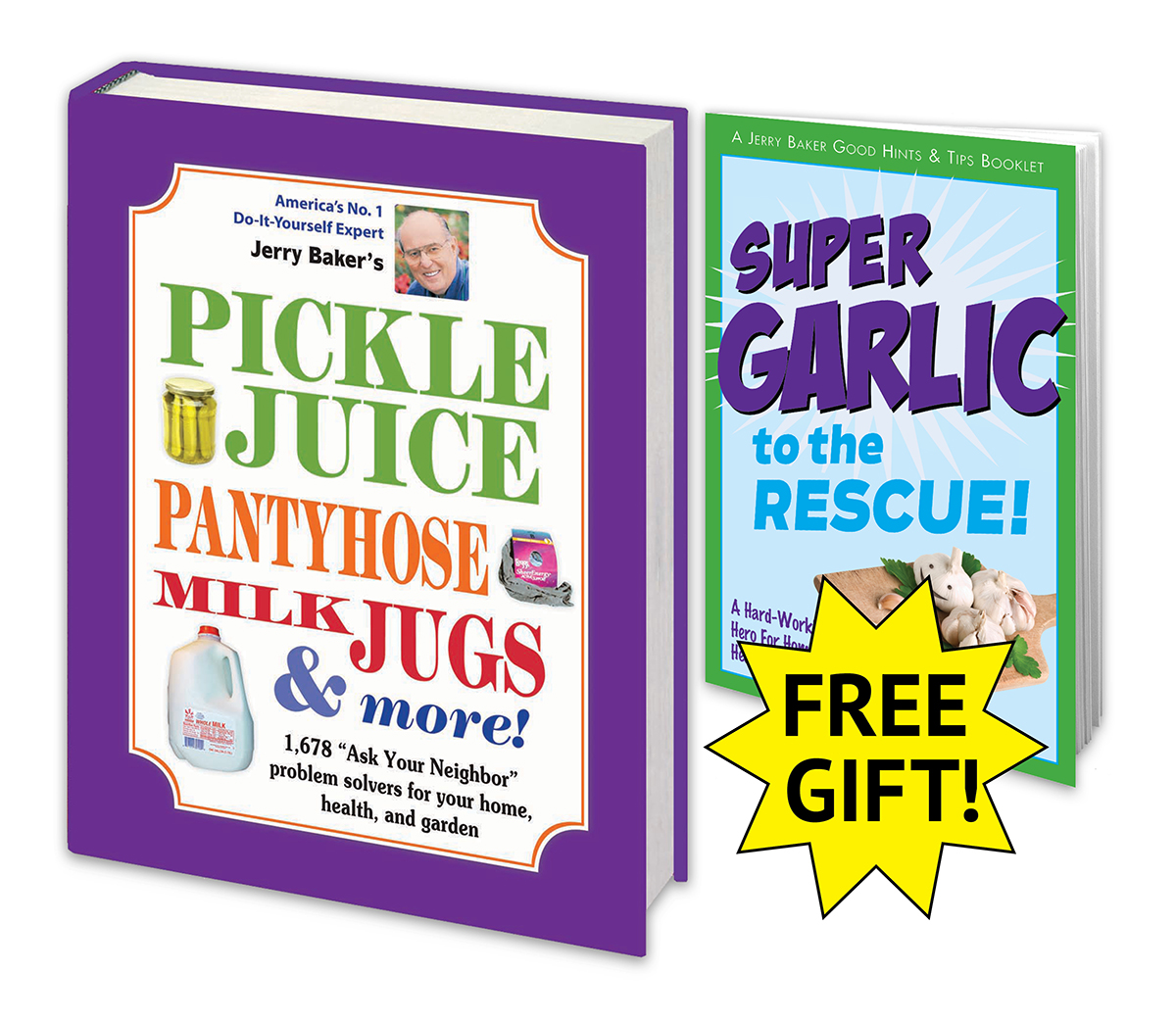 Pickle Juice, Pantyhose, & Milk Jugs