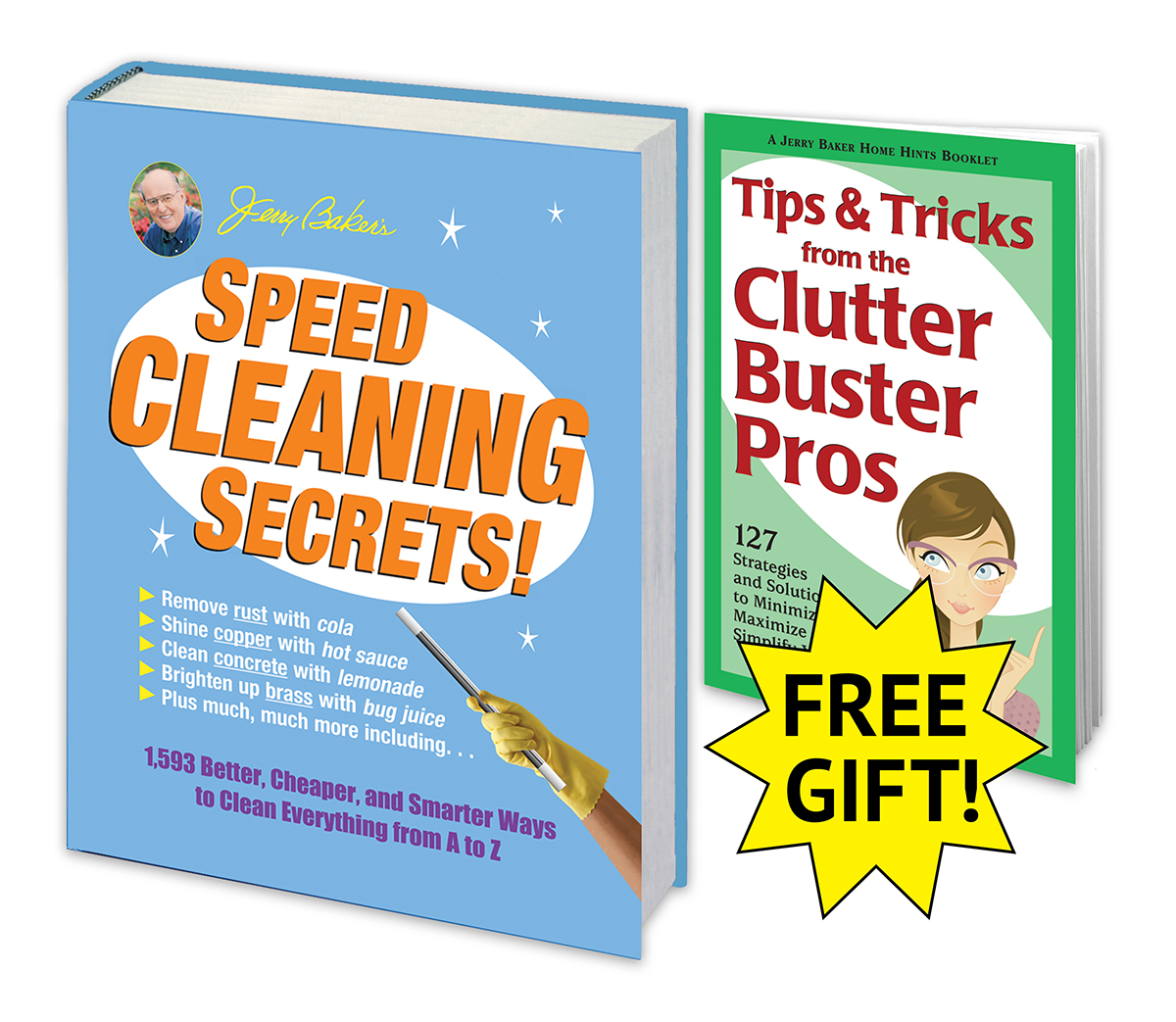 Speed Cleaning Secrets