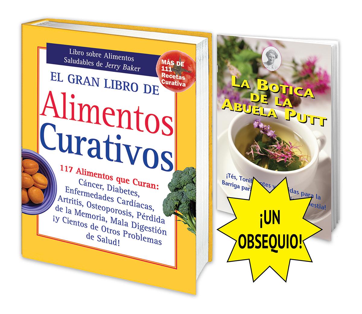 El Gran Libro de Alimentos Curativos