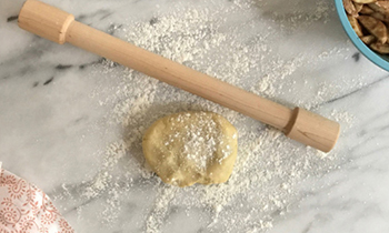JK Adams Lovely Rolling Pin is perfect for rolling galette crust