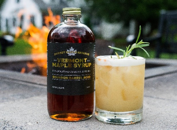 Rosemary Maple Sour Drink
