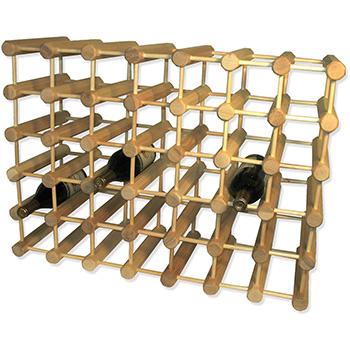 Wooden Ash Modular Wine Rack-40 Bottle - MWR-40-N