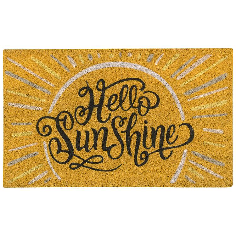 Doormat-Hello Sunshine
