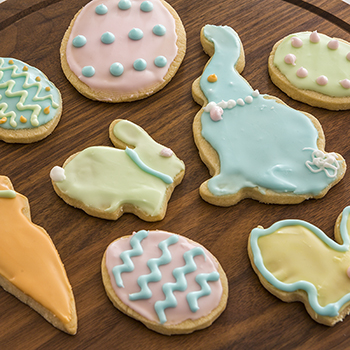 RECIPE: Decorated Easter Shortbread Cookies