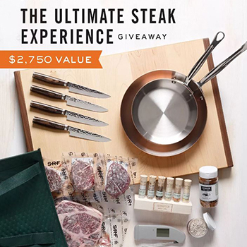 Enter The Ultimate Steak Giveaway Featuring Our Equinox Carver
