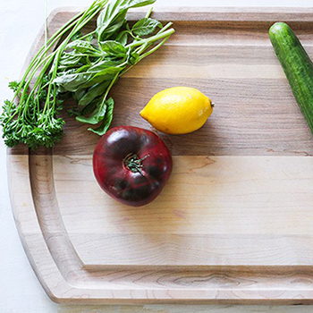A Carving Board for Vegetarians? You Bet!