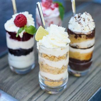 Dessert Shooters 4 Ways