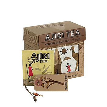 Ajiri Tea Black Tea with Ginger