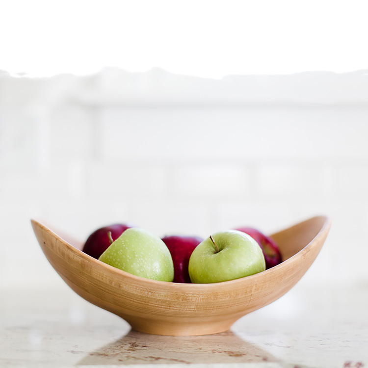 Andrew Pearce Cherry Live Edge Salad Bowl