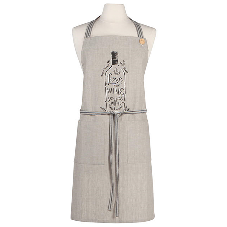Apron-Love the wine you're with