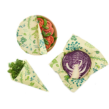 Bee's Wrap Vegan 3 pack
