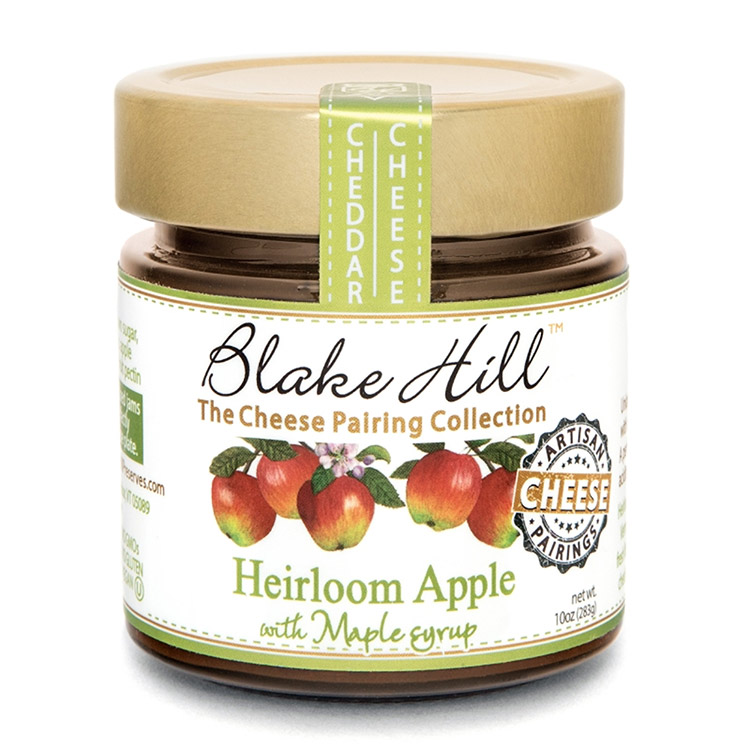 Heirloom Apples with Maple Syrup Preserves