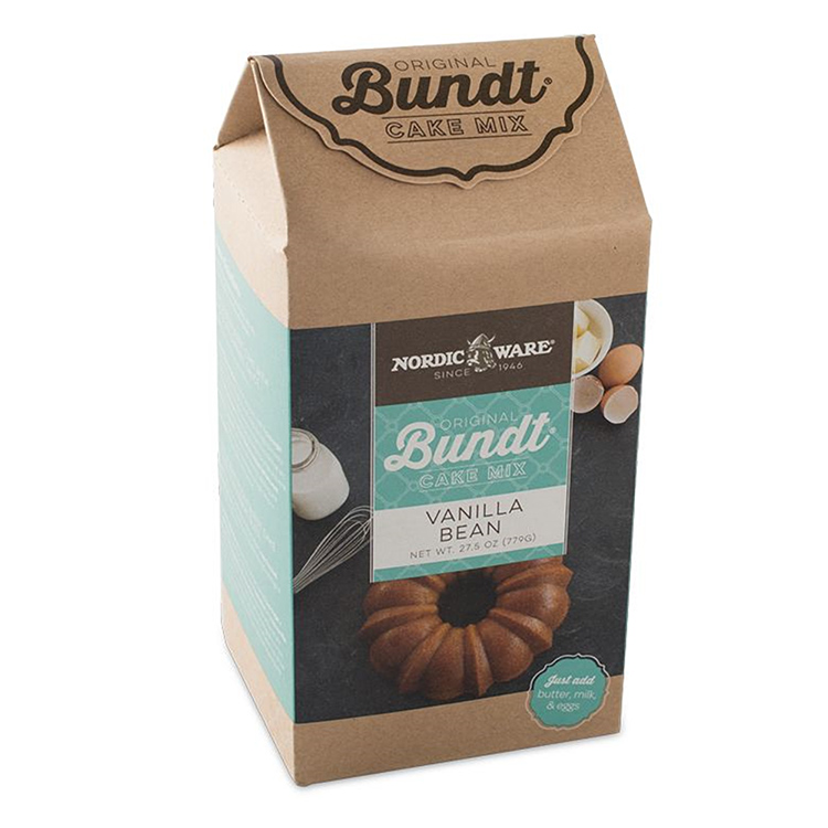 Vanilla Bean Bundt Cake Mix