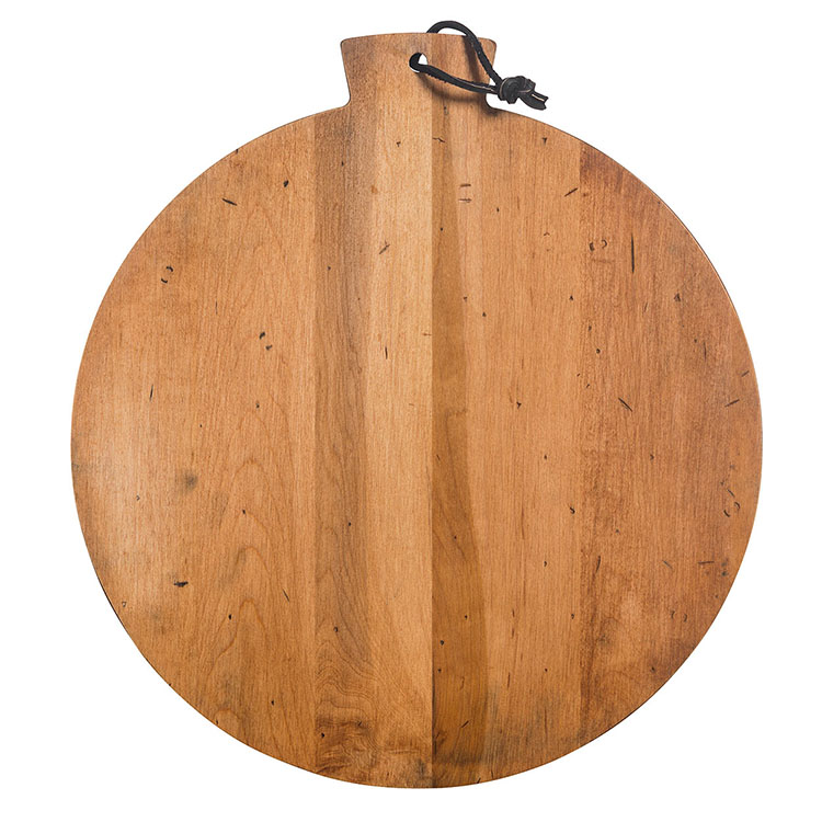 Maple Round Serving Board