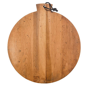 Artisan Maple Round Serving Board - CAB-13R