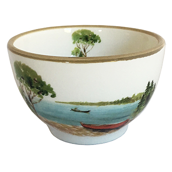 Canoe Dipping Bowl
