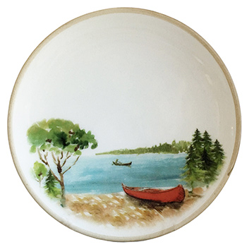 Canoe Small Plate