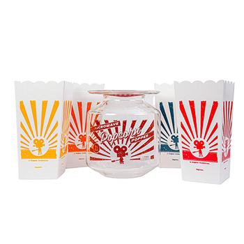 Catamount Glass Popcorn Gift Set - PREP-CP-25441
