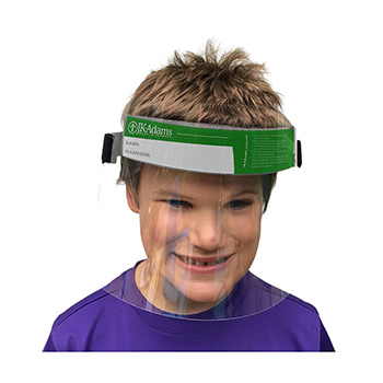 Child's Full Face Shields-pack of 25