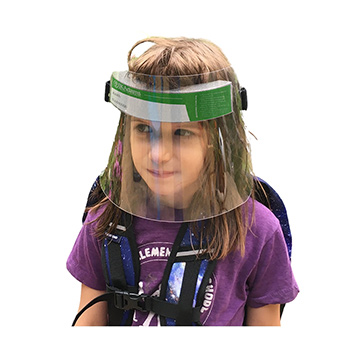 Child's Full Face Shields-pack of 10