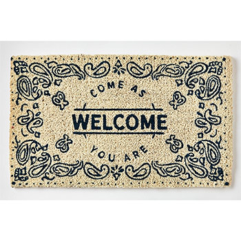 Coir Doormat-Welcome Come as you are