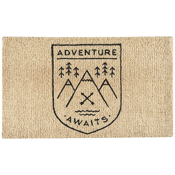 Doormat-Adventure Awaits