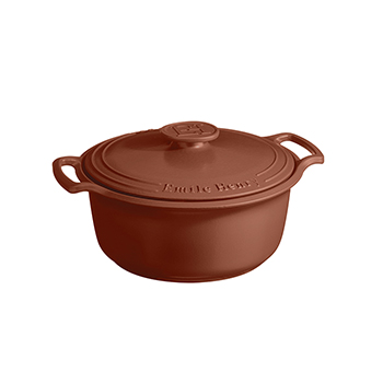 Emile Henry Sublime 6 Qt. Dutch Oven-Sienna Red - EH-144760