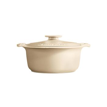 Emile Henry Sublime 4 Qt. Dutch Oven-Cream - EH-564740